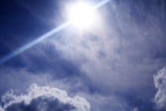 framtida sky arkivbild