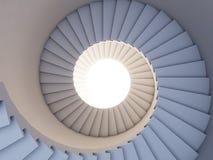 framtida trappa till Royaltyfri Fotografi