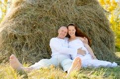 Framtidsföräldrar royaltyfria bilder