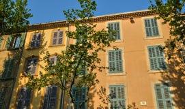 França, Bouche du Rhone, cidade de Salon de Provence fotos de stock