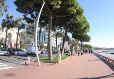 França, Cannes, esta é uma Cannes na rua Imagens de Stock