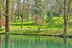 França, a cidade de Poissy Imagens de Stock Royalty Free