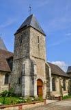 França, a cidade pitoresca de Charleval Foto de Stock Royalty Free