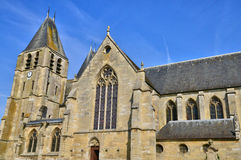 França, a cidade pitoresca de Ecouis em Normandie Imagem de Stock Royalty Free