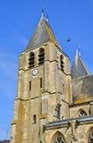 França, a cidade pitoresca de Ecouis em Normandie Fotos de Stock