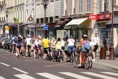 França, a cidade pitoresca de Versalhes Foto de Stock
