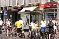 França, a cidade pitoresca de Versalhes Fotografia de Stock