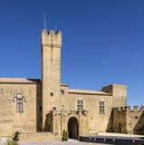 França, le Castelo de l Emperi em Salon de Provence fotos de stock