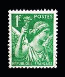 França mostra a íris, serie, cerca de 1939 Fotografia de Stock Royalty Free