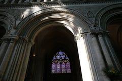França Normandy Bayeux 30 de junho de 2014 interior fotografia de stock royalty free