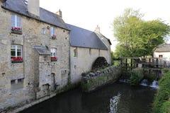 França Normandy Bayeux paisagem 30 de junho de 2014 imagens de stock