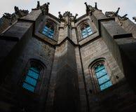 França. Normandy. Mont Saint-Michel. Imagens de Stock Royalty Free