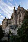 França. Normandy. Mont Saint-Michel. Imagem de Stock Royalty Free