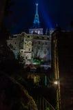 França. Normandy. Mont Saint-Michel. Imagem de Stock