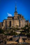França. Normandy. Mont Saint-Michel. Fotografia de Stock