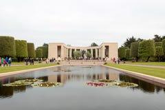 França, Normandy, o 6 de junho de 2011 - cemitério dos soldados do exército aliado que caiu durante a operação em Normandy Fotos de Stock Royalty Free