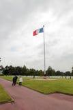 França, Normandy, o 6 de junho de 2011 - cemitério dos soldados do exército aliado que caiu durante a operação em Normandy Imagens de Stock Royalty Free