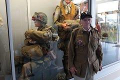 França, Normandy, o 6 de junho de 2011 - um veterano do exército dos EUA que participou na operação em 1944 em Normandy Imagens de Stock Royalty Free