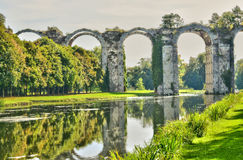 França, o aqueduto pitoresco de Maintenon Imagem de Stock