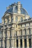 França, Paris, jardim de Tuileries, Louvre Art Museum Imagens de Stock Royalty Free