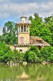 França, a propriedade de Marie Antoinette no parc do Pa de Versalhes Imagem de Stock