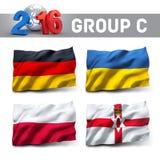 França 2016 qualificadores Foto de Stock Royalty Free