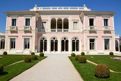 França, riviera francês, Saint Jean Cap Ferrat, casa de campo Rothschild fotos de stock royalty free