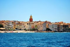 França - Saint Tropez Fotografia de Stock Royalty Free