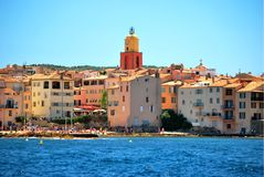 França - Saint Tropez Imagem de Stock Royalty Free
