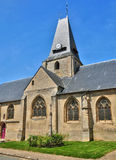 França, a vila pitoresca de en Vexin de Boury Imagem de Stock Royalty Free