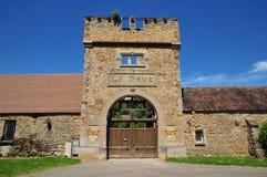 França, a vila pitoresca de Fremainille Fotos de Stock