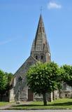 França, a vila pitoresca de Gadancourt Foto de Stock Royalty Free