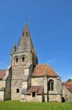 França, a vila pitoresca de Gadancourt Fotos de Stock Royalty Free