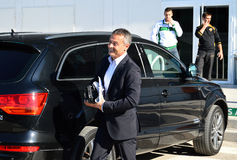 Fran Escriba The Elche Team Coach Royalty Free Stock Image