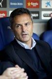 Fran Escriba-manager van Elche CF Stock Foto's
