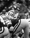 Fran Tarkenton. Minnesota Vikings QB Fran Tarkenton, #10. (Image taken from a b&w negative Stock Photo
