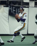 Fran Tarkenton. Minnesota Vikings QB Fran Tarkenton, #10.  Image taken from color slide Royalty Free Stock Photo