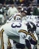 Fran Tarkenton. Minnesota Vikings QB Fran Tarkenton. (Image taken from color slide Royalty Free Stock Image