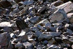 Frana di roccia Immagine Stock