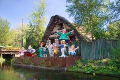 Francés-Parque Asterix Imágenes de archivo libres de regalías