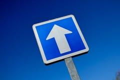 Francés una señal de tráfico de la manera solamente Fotografía de archivo libre de regalías