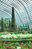 Francês Faire, jardins pela baía, Singapura Foto de Stock