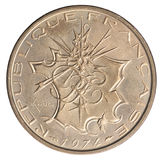 Francês 10 francos Fotografia de Stock