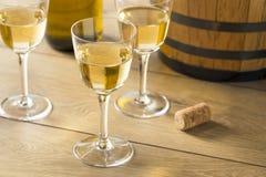 Francês seco Sherry Dessert Wine imagem de stock royalty free