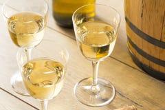 Francês seco Sherry Dessert Wine fotografia de stock royalty free