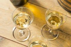 Francês seco Sherry Dessert Wine fotos de stock