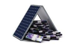 Franc Energy Saving suisse illustration de vecteur