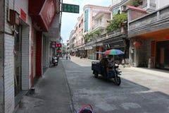 Franc : La vie en Chine image libre de droits