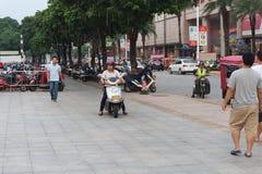 Franc : La vie en Chine photo libre de droits