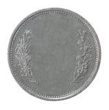 Franc mynt fotografering för bildbyråer